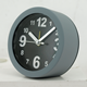 Simple style modern alarm table clock round analog