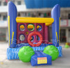 Funny inflatable bouncer,inflatable truck jumping trampoline