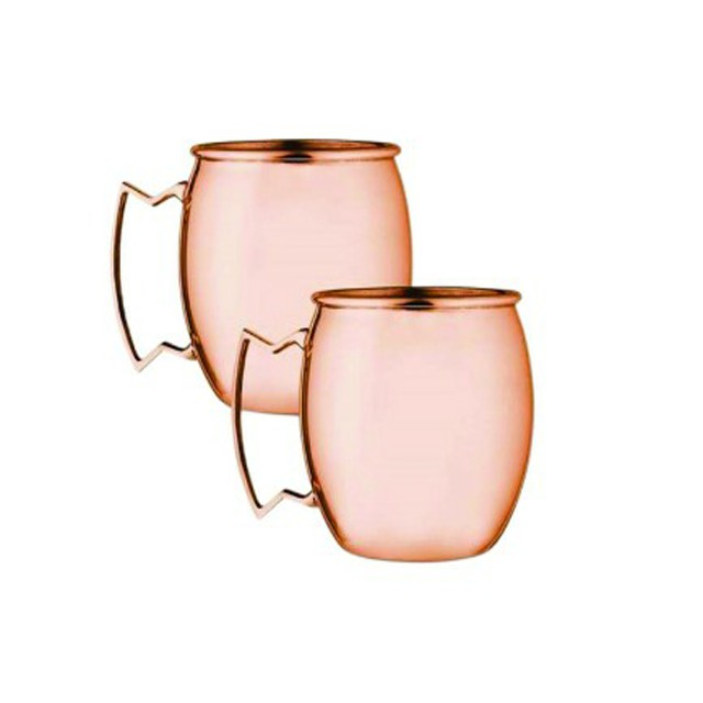 High quality cheap custom shot glass taper copper mugs copper wine cup