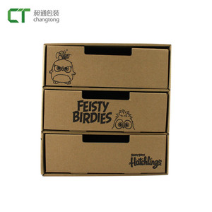 Custom made drawer paper food grade cardboard candy packaging box