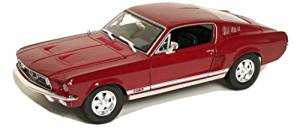 1967 Ford Mustang GTA Fastback Red 1/18 Diecast Model Car by Maisto