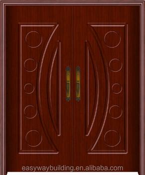 Cheap Pvc Wooden Mdf Main Indian Door Designs Double Doors - Buy ...