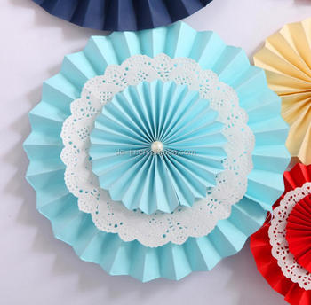 35cm Lace Round Wall Hanging Paper Crafts Buy Wall Hanging Paper