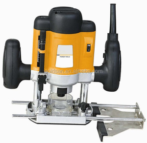 TOLHIT 220-240v 6mm/8mm 1200w Wood Working Power Mini Electric Plunge Router
