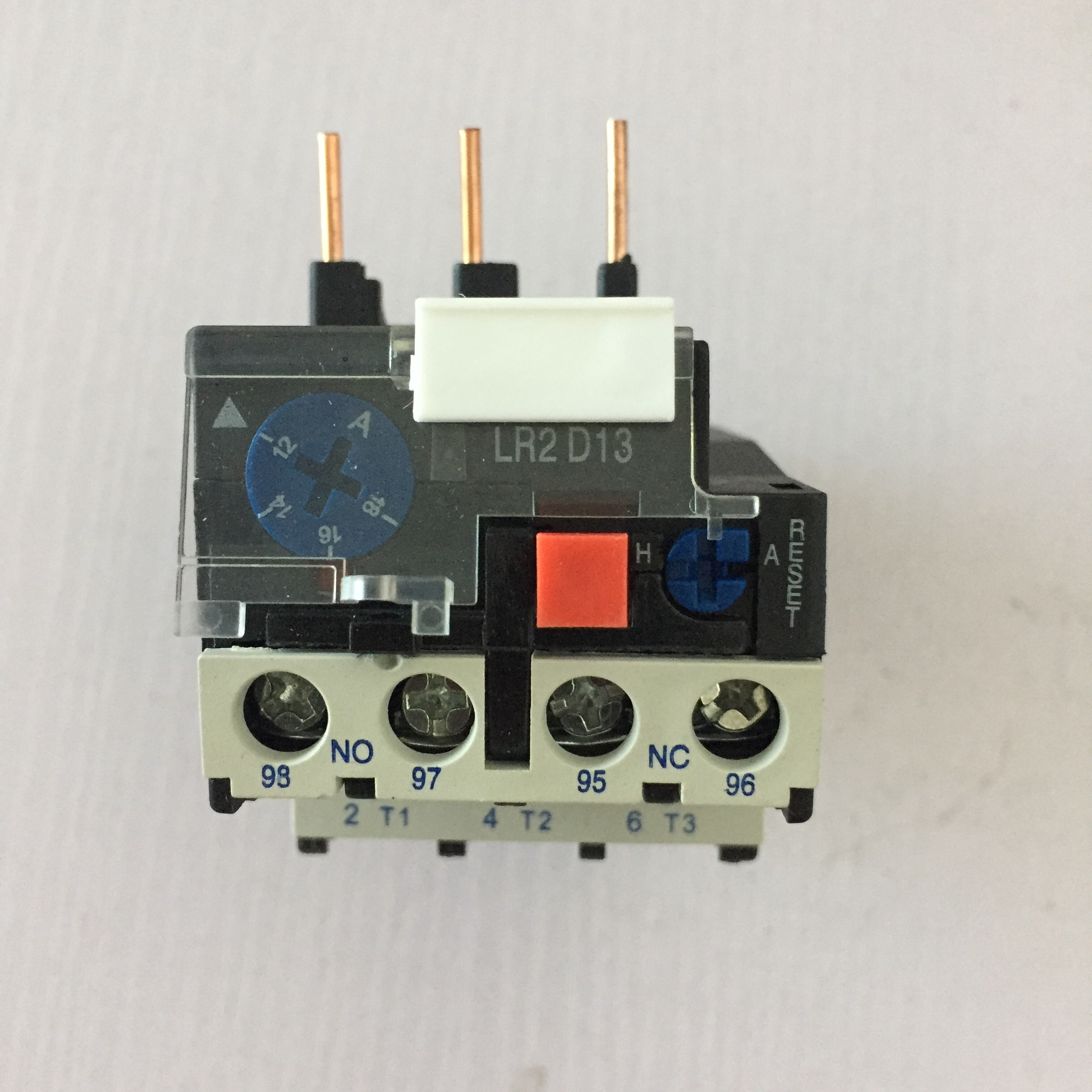 Thermal overload relay LR2-D13 LR2D13 0.16A-25A Complete current specifications