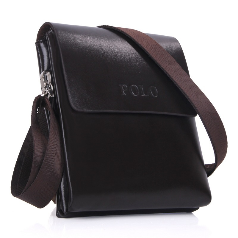 2015 hot sale men leather messenger bags high quality man famous brand business shoulder bag wholesale price freeshipping fdk-09
