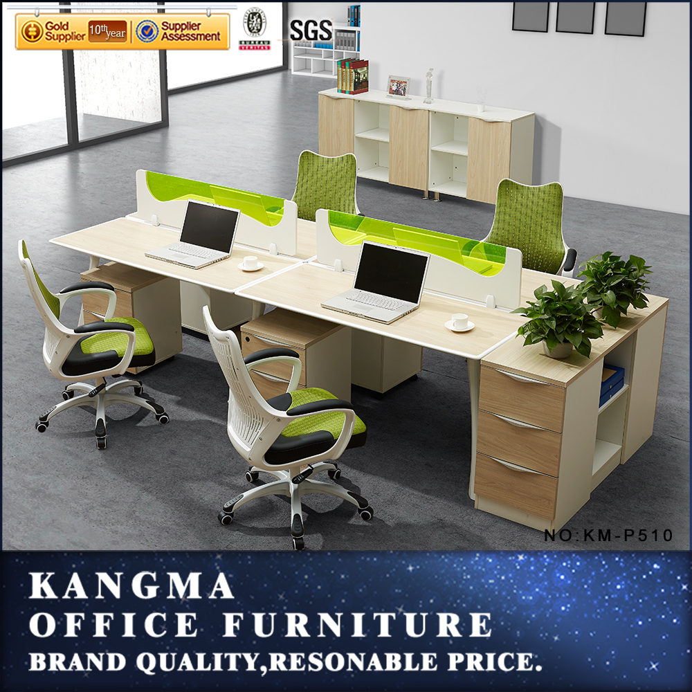Administrative office furniture Malaysia counter modern office partner workstations desk