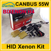 AC 12V 55W hid can bus xenon kit H4 high low beam
