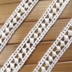 White Color Strech Polyester Embroidery Border Lace Trim ,Wholesale Lace Trim