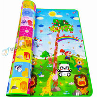 70.9*59.1*0.2 inch Double Side Wholesale Waterproof EPE Foam Baby Floor Play Mat Children Play Mat