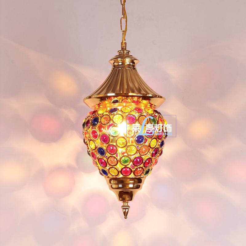 Latern Moroccan Crystal Chandelier Lighting Lamp