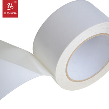 Crazy Selling Double Sided Banner Hemming Tape Tissue Pet Pvc