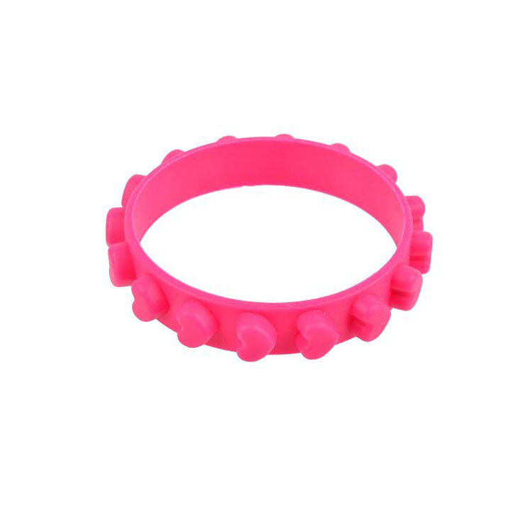 2019 Factory Best Seller latex free silicone rubber bracelet promotional gifts silicone band