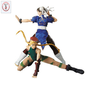 Factory Custom made best home decoration gift polyresin resin neca street fighter action figure