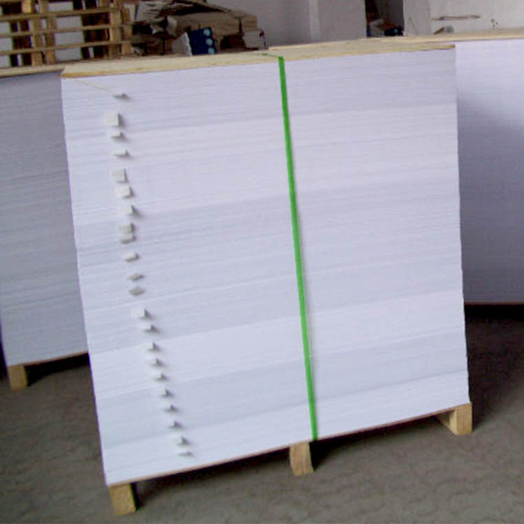 low price wholesale 250gsm sheets white cardboard paper