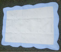 Pure Cotton Baby Blanket Soft and Eco Friendly 100% Cotton Baby Quilt Wholesale