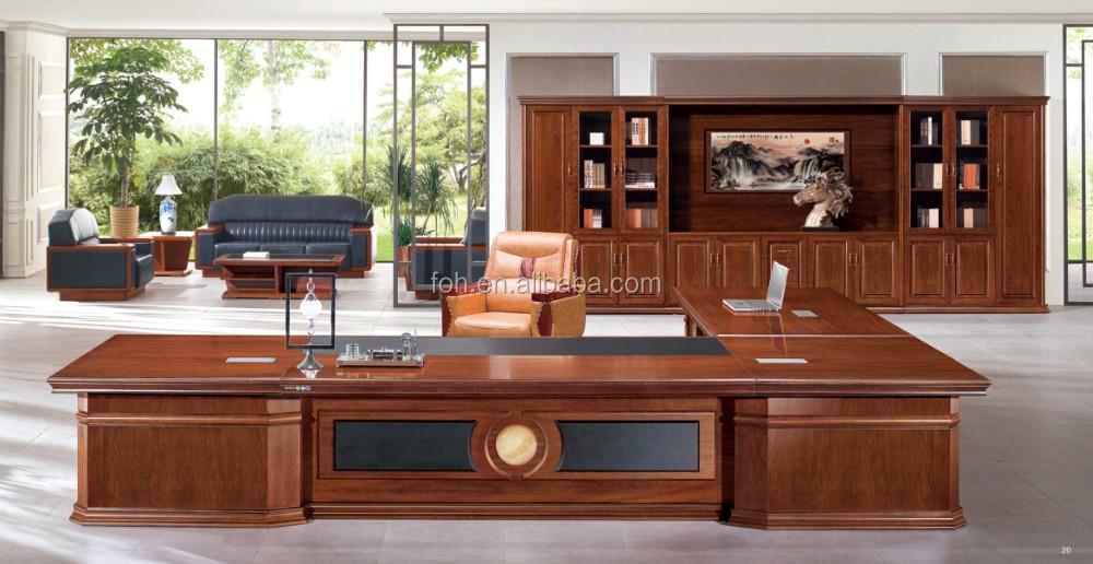 3800mm Länge Super Luxus Boss Regiestuhl Tisch Büromöbel Für ...
