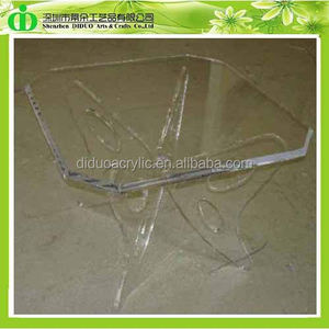 DDH-T031 ISO9001 Chinese Manufacture Made Butterfly Acrylic Folding Table