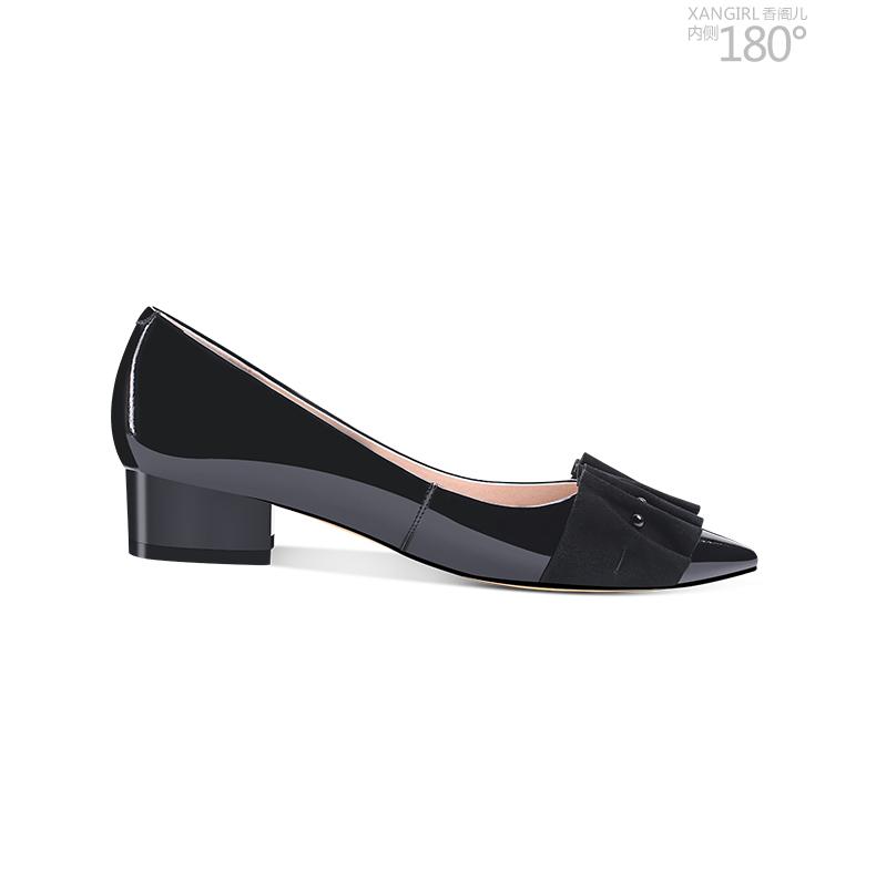 quality shoes dress Women high flat real 2018 pumps leather genuine a7qwU
