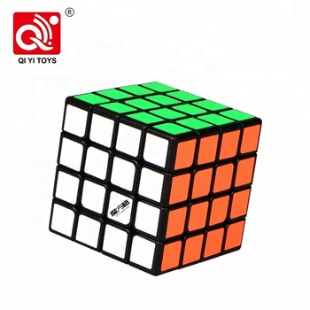 Qiyi different color 62mm 4x4 cube speed puzzles brain teasers for kids