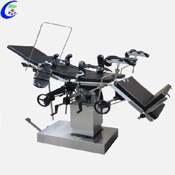 Stainless Steel Orthopedic Manual Hydraulic Operating Table