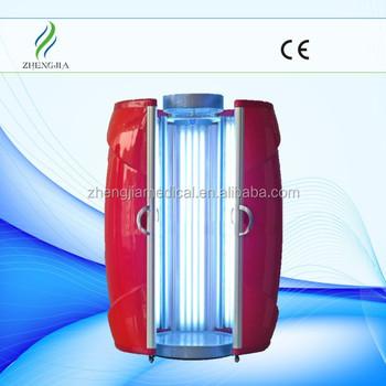 Top Vente Haute Pression Solarium Machine Led Lit De Bronzage A