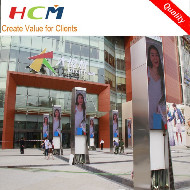 Alibaba supplier P5 Outdoor street advertising Slim led screen