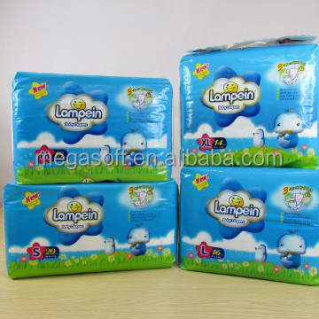 Lampein hot selling baby products / disposable baby diapers