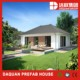 Modern living house 2 units 40ft prefab shipping container house for sale