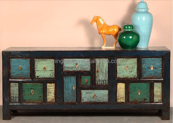 Chinese antique furniture wholesale antique cabinet sideboard cabinet