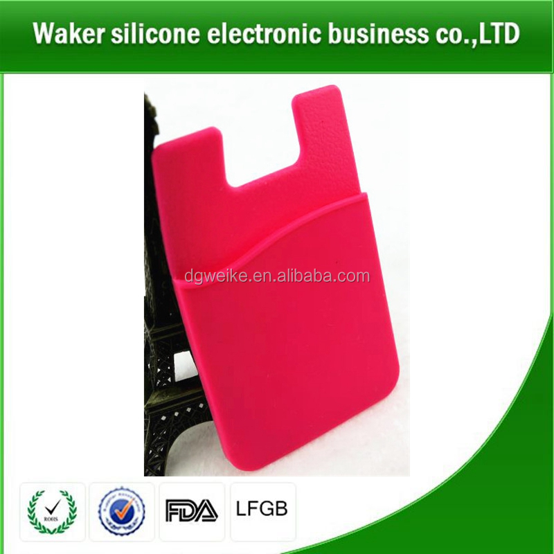 Cute silicone business card holder