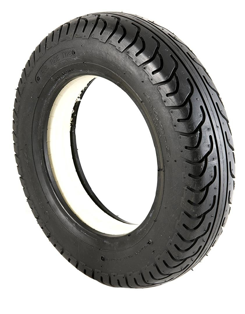 2 Black Solid Block IA2804 Tread Mobility Scooter Tyres 300 x 8