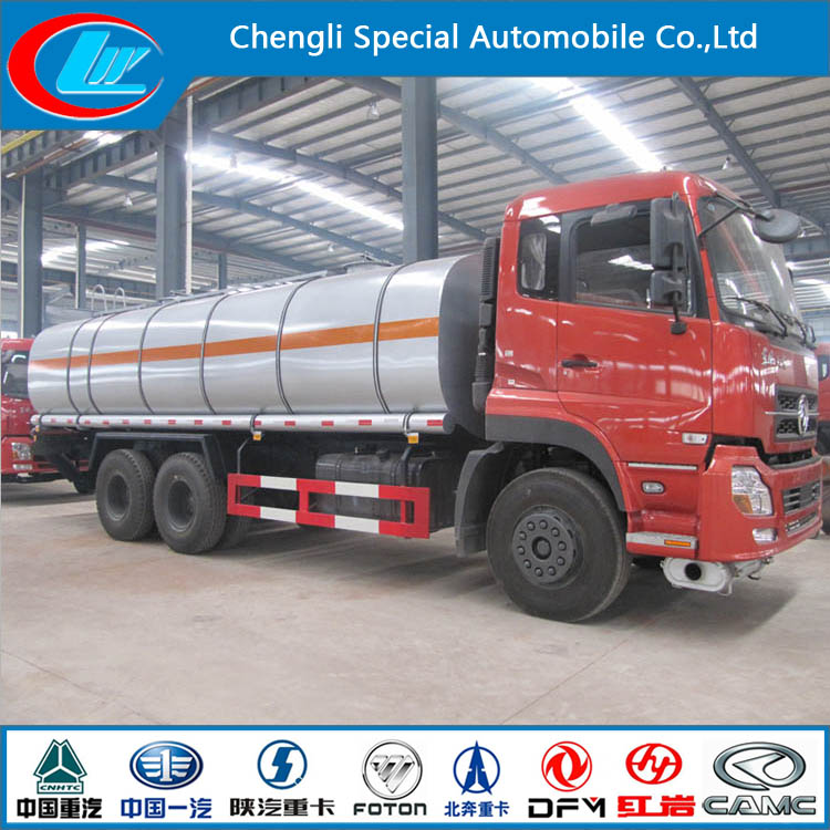 Dongfeng heavy oil tanker truck price good 6*4 oil truck