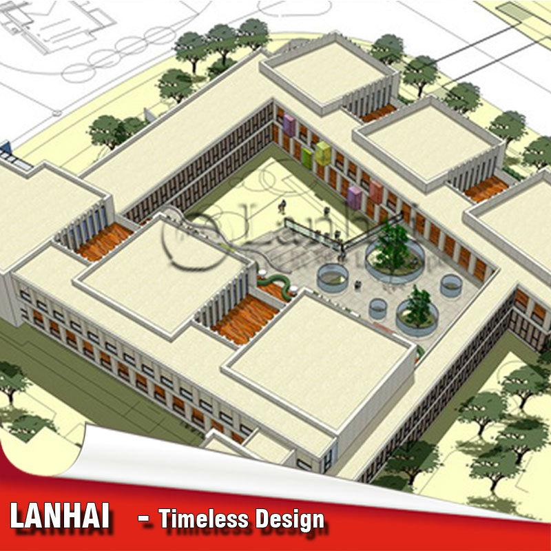 Large Kindergarten Design
