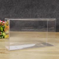 Custom see through crystal Plastic PVC wine glass clear box
