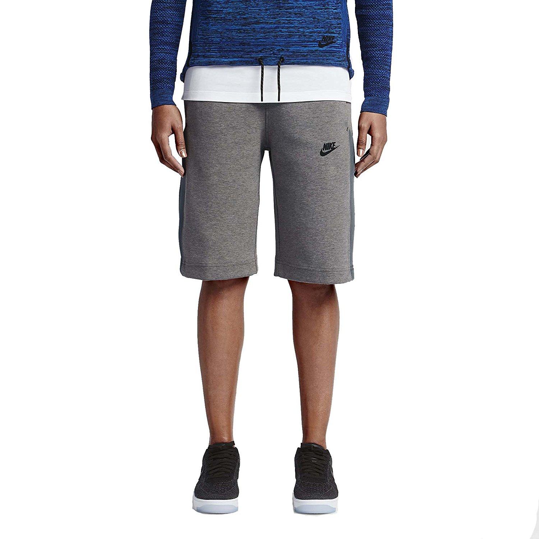 Get Quotations · Nike Womens Tech Fleece Mesh Shorts 728263-091 Grey (Small) 723719da1a