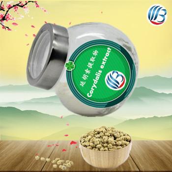 LanBing supply pure natural high quality corydalis yanhusuo extract rhizoma corydalis powder