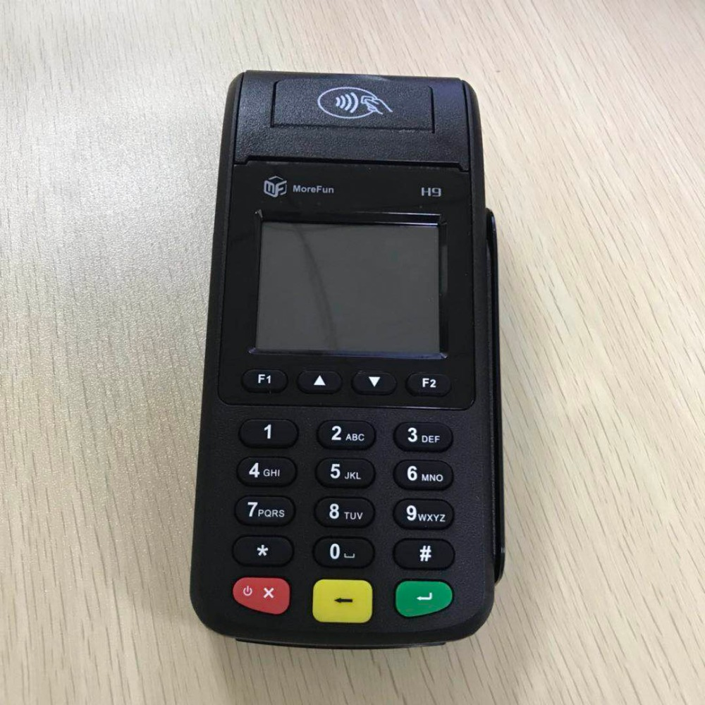 Hand-held POS Banking Payment Device With Printer NFC Card Reader For POS Terminal