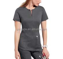 Designer Slim Fit <span class=keywords><strong>Infermiera</strong></span> Uniforme <span class=keywords><strong>Set</strong></span> Scrub