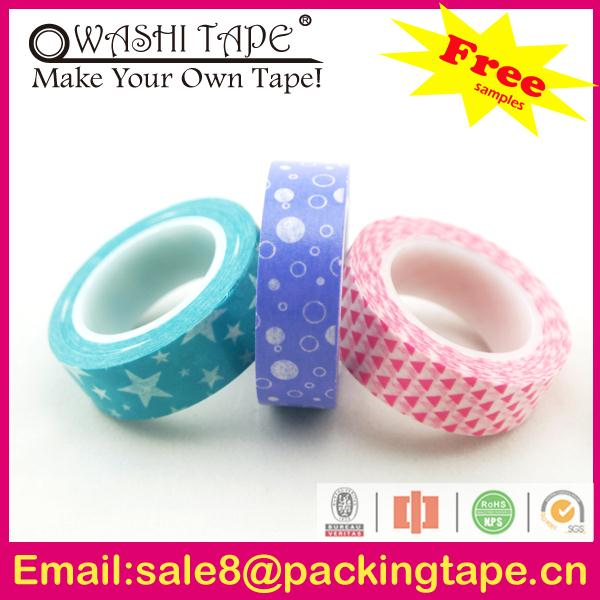 assorted design japanese washi tape wholesale packing tape for gift