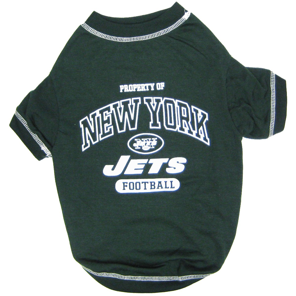 Get Quotations · NFL New York Jets Football Property Pet T-Shirt - Green 82c0ae141