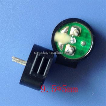 9.5*5 09 side âm thanh thụ động điện từ buzzer siêu mỏng BUZZER gốc
