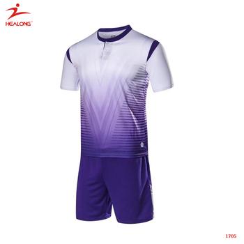20fbe8fc41e Custom Team Set Men Soccer Uniform Cheap Xxxxl Size Soccer Jersey ...