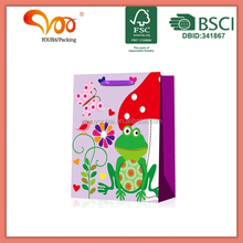 OEM/ODM Factory Wholesale Good Quality Handcraft printed cupcake shaped die cut cello bags