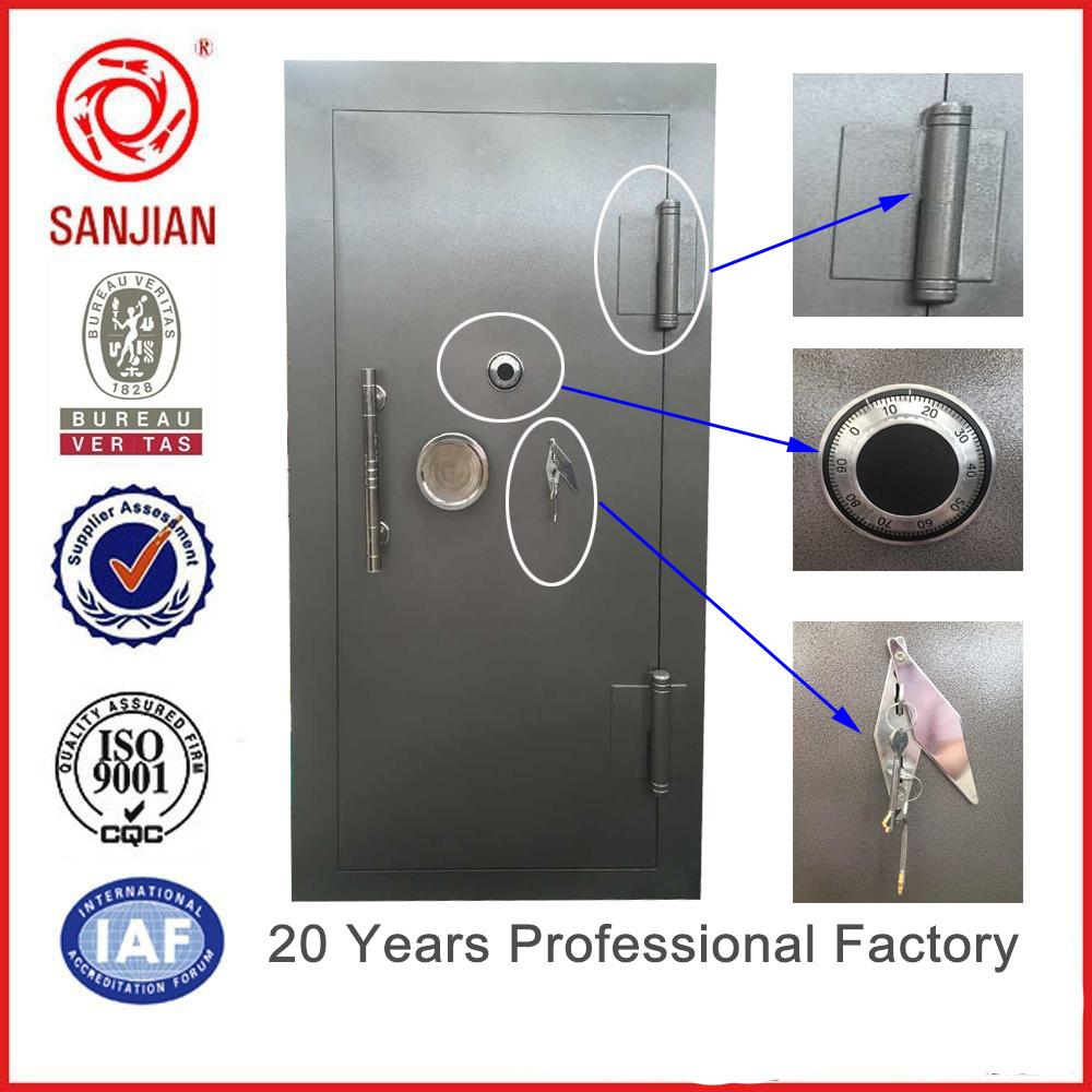 High Quality Bank Gun Safe Door Steel Strong Room Door