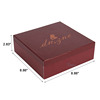 wholesale glass cardboard wine gift boxes