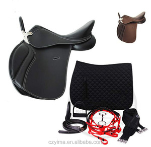 Comprehensive horse saddle with 7 piece kit