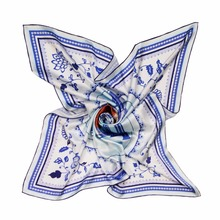 China best selling modern design high quality twill silk scarf for sale