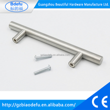 Factory Price Hollow Stainless Steel T Bar Furniture Kitchen Cabinet Hardware Pull Handle