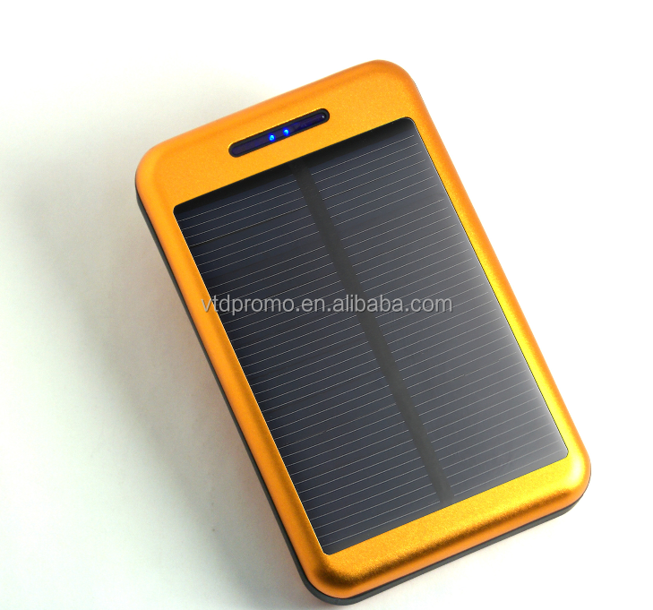 hot selling backup powers mobile phone charger solar power bank